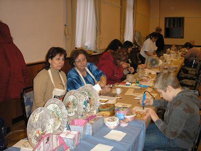 Tegolaváros 2009 Karácsonyi ajándékkészítős nap